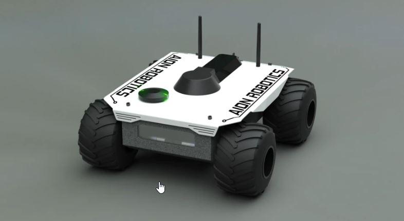 Robot explorador y de rescate M6 UGV Aion Robotics