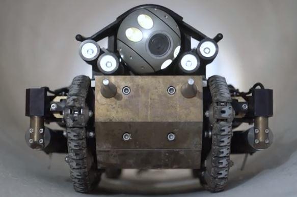 Robot PureRobotics para explorar tuberías
