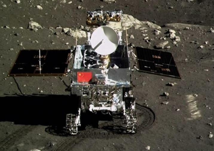robot explorador espacial Yutu 2 Rover creado por China