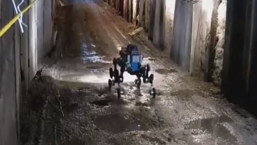 robot ANYmal explorador y de reconocimiento de alcantarillas