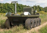 robot Moose para reconocimiento e investigación, vehículo no tripulado terrestre y anfibio