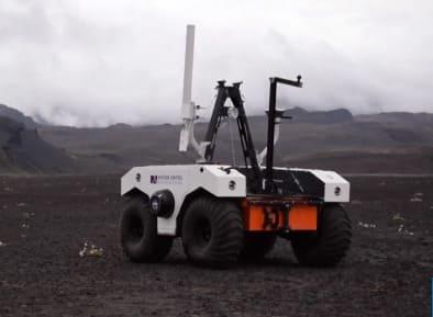 La NASA realiza pruebas en Islancia con su robot explorador rover astromóvil
